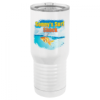Polar Camel 20oz Tall White Vacuum Insulated Tumbler